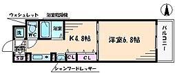 サムティ本町橋[7階]の間取り