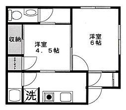 [一戸建] 東京都八王子市元本郷町1丁目 の賃貸【/】の間取り