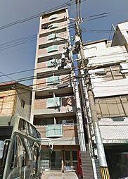 京都府京都市下京区八幡町の賃貸マンションの外観