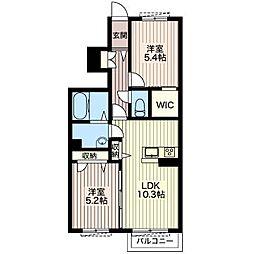 S375[1階]の間取り