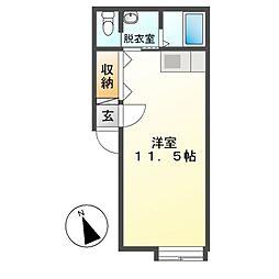 M70[1階]の間取り