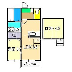 煉瓦の家 SAKURAI[2階]の間取り