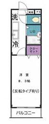 東京都練馬区南大泉3丁目の賃貸マンションの間取り