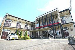 滋賀県大津市雄琴6の賃貸アパートの外観