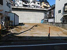 敷地内敷地内(建物解体済み・更地)2018年3月撮影