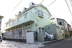 千葉県船橋市本中山1丁目の賃貸アパートの外観