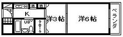 エイトワン吉井町[305号室]の間取り