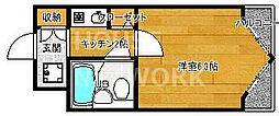DETOM-1鴨川[404号室号室]の間取り