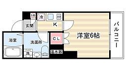 京都今出川レジデンス[2階]の間取り