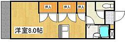 スターマンション新田[3階]の間取り