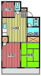 永瀬ビル[4階]の間取り