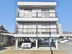 山梨県甲府市富士見1丁目の賃貸アパートの外観