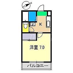 ビタミンハウス[4階]の間取り