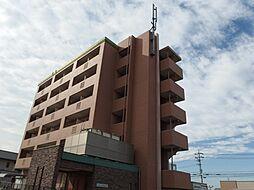 愛知県岡崎市橋目町字阿知賀の賃貸マンションの外観