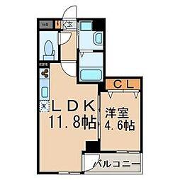 Vivace Kasai(ビバスカサイ)[5階]の間取り