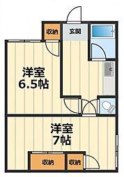 メイクハウス石神井台[1階]の間取り