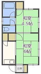センリハウス[2階]の間取り