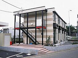 東京都町田市鶴間4丁目の賃貸アパートの外観