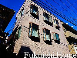 東京都渋谷区笹塚3の賃貸マンションの外観