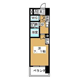 S‐FORT山王[5階]の間取り