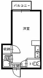 長崎県長崎市西山本町の賃貸アパートの間取り