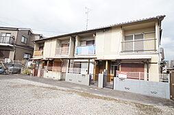 兵庫県宝塚市小林3丁目の賃貸アパートの外観