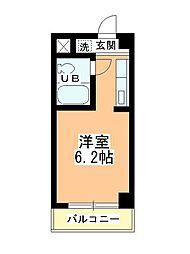 田町第二マンションB棟[306号室]の間取り
