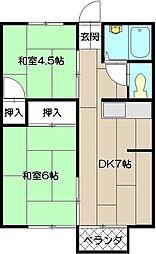 メイゾン佐藤II[103号室]の間取り