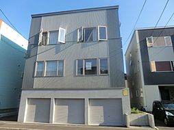 北海道札幌市東区北三十八条東15丁目の賃貸アパートの外観