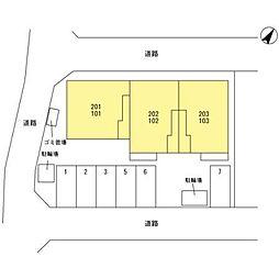 埼玉県さいたま市緑区中尾1274の賃貸アパートの外観