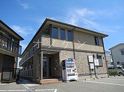 兵庫県三木市本町2丁目の賃貸アパートの外観