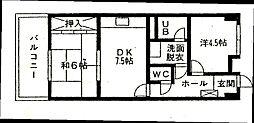 サンシャイン諸藤[704号室]の間取り