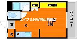 野田レジデンス[4階]の間取り