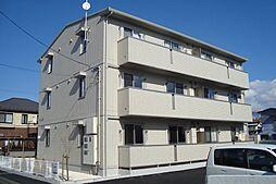 長野県松本市宮田の賃貸アパートの外観
