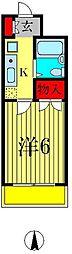 リーブル北小金[3階]の間取り