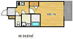 ポルト・ボヌール神戸湊川公園[13階]の間取り