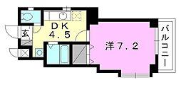 ラディ yamamoto[503 号室号室]の間取り