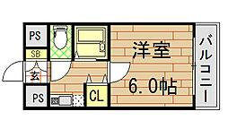 イマザキマンション エヌ・ワン[1005号室]の間取り