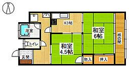 泉堂マンション[301号室]の間取り