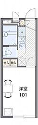 レオパレスSUGAWARA[2階]の間取り