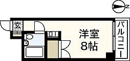 レジデンス十日市[4階]の間取り