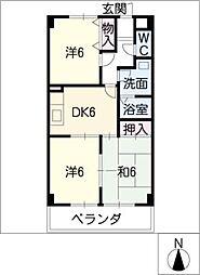 NOVA11[1階]の間取り