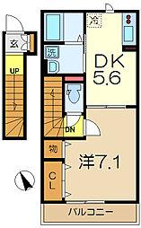 仮)D-room永田東2丁目[1階]の間取り