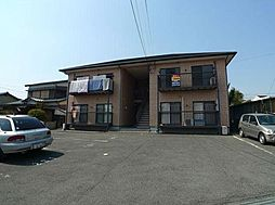 福岡県北九州市八幡西区町上津役東1丁目の賃貸アパートの外観