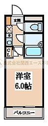 シャルマンフジ堺東壱番館[1階]の間取り