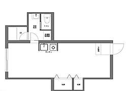 世田谷区奥沢7丁目デザイナーズ戸建[B号室]の間取り