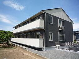 長野県松本市神田1丁目の賃貸アパートの外観