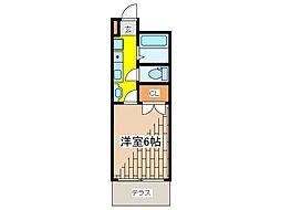 ユニバースゲート[1階]の間取り