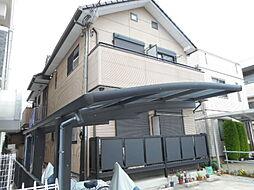 埼玉県川越市旭町1-の賃貸アパートの外観