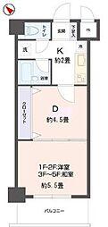 リビングステージ東仙台[2階]の間取り